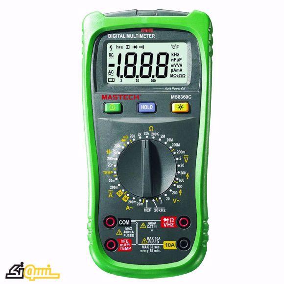 مولتی متر دیجیتال مستک MS8360C