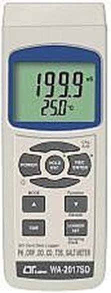 اندازه گیری PH DO EC ORP TDS SALT با قابلیت ثبت مقادیر