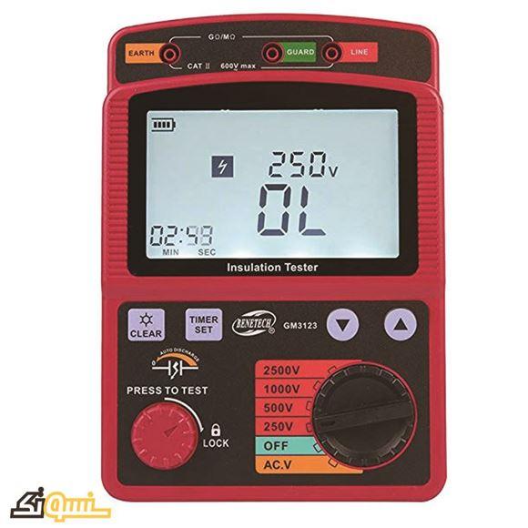 تستر مقاومت عایق GM-3123